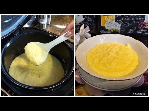 Каша кукурузная в мультиварке редмонд на молоке рецепт с фото