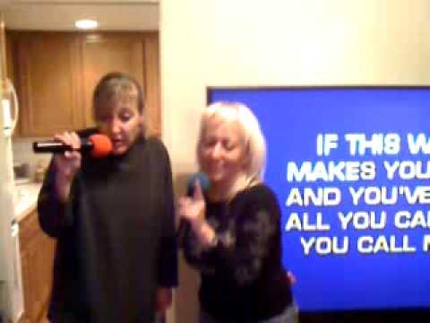 OCnetta & Tweedyfan singing karaoke live at 11:17pm PST