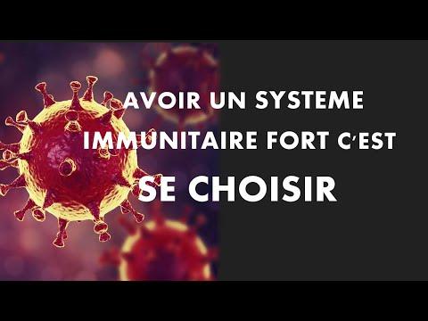 CORONAVIRUS: un système immunitaire FORT c'est SE CHOISIR.