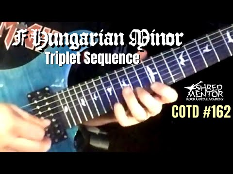 F Hungarian Minor Triplet Sequence | ShredMentor Challenge of the Day #162