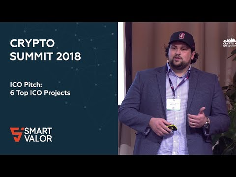 Crypto Summit 2018 | ICO Pitch: 6 Top ICO Projects