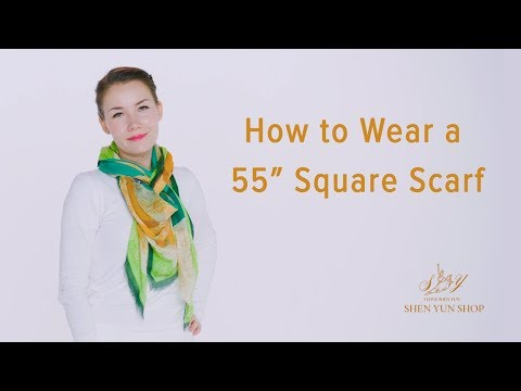 Wearing a Silk Scarf: Tang Dynasty Grace