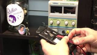 How to use dc power supply for cell phone repair