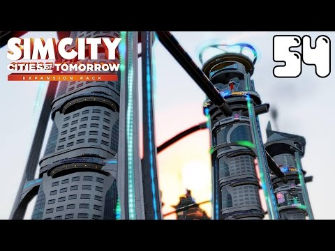 Sim City Cities Of Tomorrow #54 Amazing Theme Park Profit