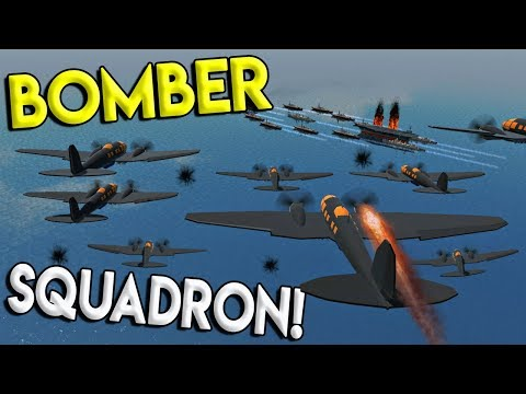 MASSIVE BOMBER SQUADRON BATTLE & EXPLODING WALL-E! - Simple Planes Creations Gameplay - EP 16