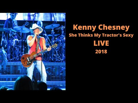 Kenny Chesney  She Thinks My Tractor's Sexy LIVE 6/7/18 St. Joseph's Health Amphitheater at Lakeview