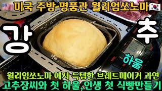 미국 제빵기 하울 고추장씨와 첫 하울, 신퉁방퉁 제빵기…