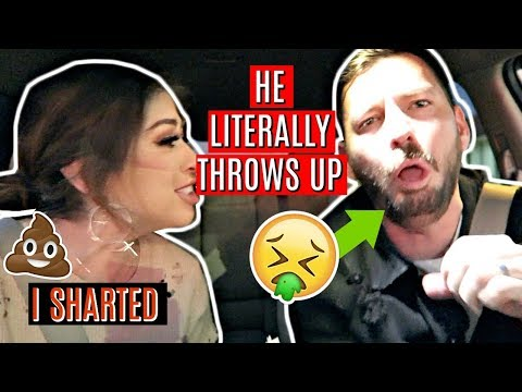 POOPED MY PANTS PRANK ON HUSBAND: HE LITERALLY THROWS UP (not clickbait)
