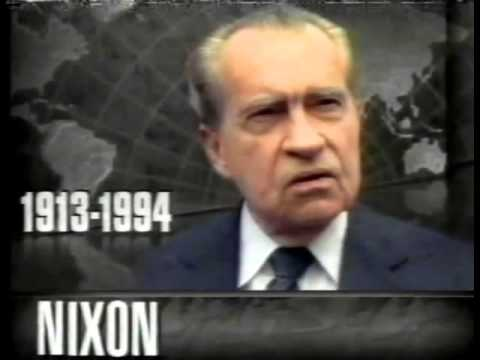 Death of President Richard Nixon CNN Live Coverage 4-22/4 ...