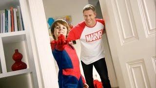 Spiderman Hero Up Advert