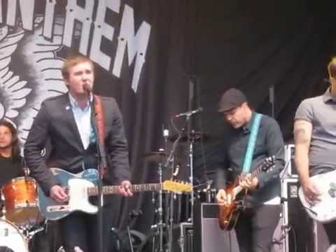 The Gaslight Anthem - Old White Lincoln @ City Hall Plaza in Boston, MA (6/21/14)