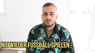 ICH KANN NIE WIEDER FUSSBALL SPIELEN..