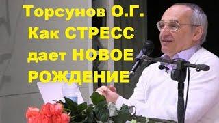 Торсунов О.Г. Как СТРЕСС дает НОВОЕ РОЖДЕНИЕ