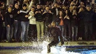 Exclusive: Kanye West Just Played A Free Concert In Armenia And Then Jumped Into Swan Lake