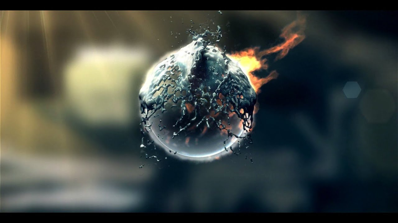 Fire & water logo intro template [sony vegas pro 13] free download.