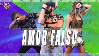 Baixar Amor Falso - Wesley Safadão e Aldayr Playboy Ft Kevinho - Coreografia Equipe Marreta