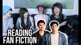 READING DAN AND PHIL FANFICTION with Our World Away | Alex Dorame