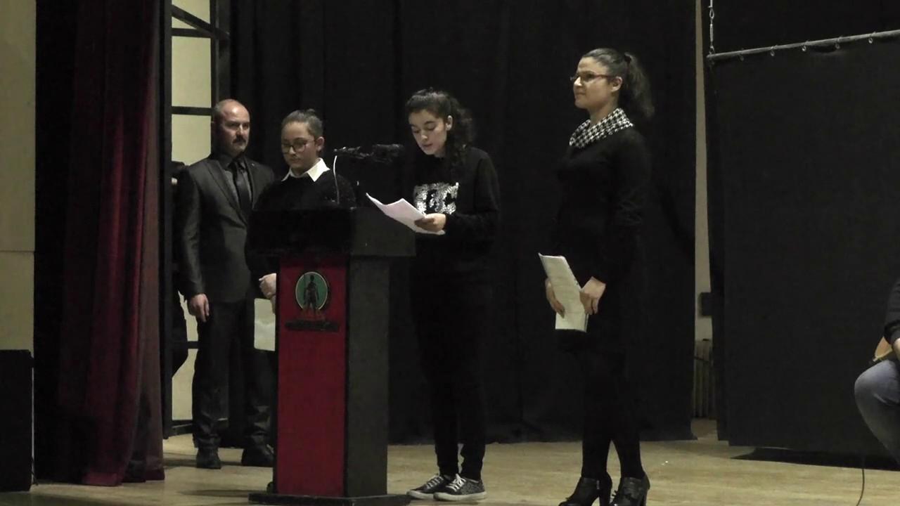 Şehit öğretmen için anma töreni düzenlendi