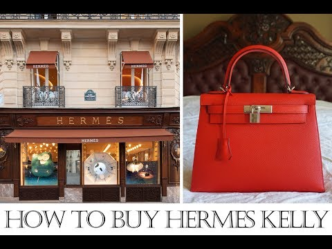 Tips for How to buy Hermes Kelly/Birkin in Paris & other cities! Paris flagship store vs others!