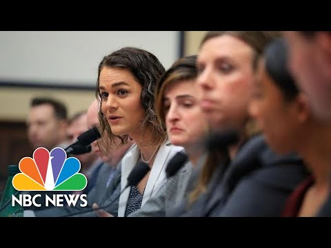 Watch: Transgender Troops Make First Testimony Before House Committee   NBC News
