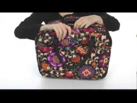 Vera Bradley Luggage Roll Along Work Bag Sku 8086425