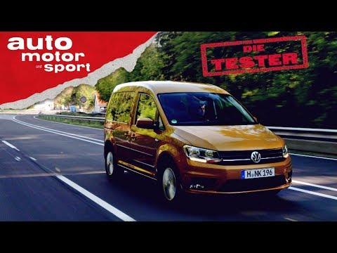 VW Caddy: Wer braucht da noch einen Touran? - Test/Review   auto motor und sport
