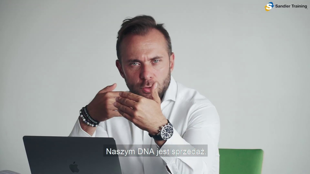 Naszym DNA jest sprzedaż | Sandler Training Polska