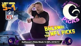 NFL Picks 2016-2017 Week 15 Against The Spread Back To The Future Spoof