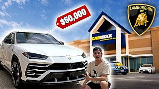 Taking My Lamborghini Urus To Carmax! They Offered