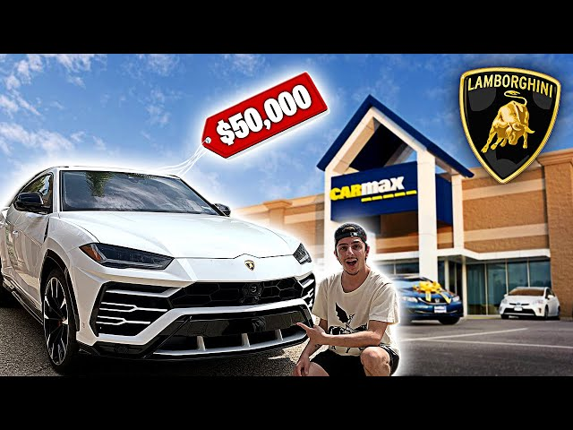 Taking my Lamborghini Urus to CarMax! They Offered This...