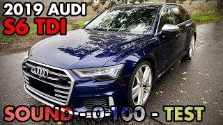 2019 AUDI S6 TDI (C8 4K) | TEST & EXHAUST SOUND + 0-100 | OEM / STOCK | XHAUST