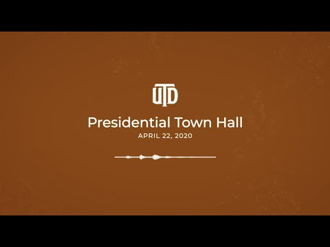 UT Dallas Presidential Town Hall