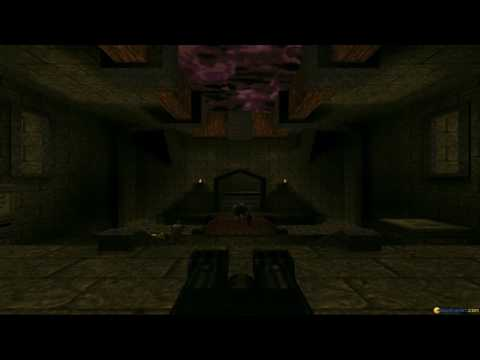 Quake: The Offering gameplay (PC Game, 1997) thumbnail