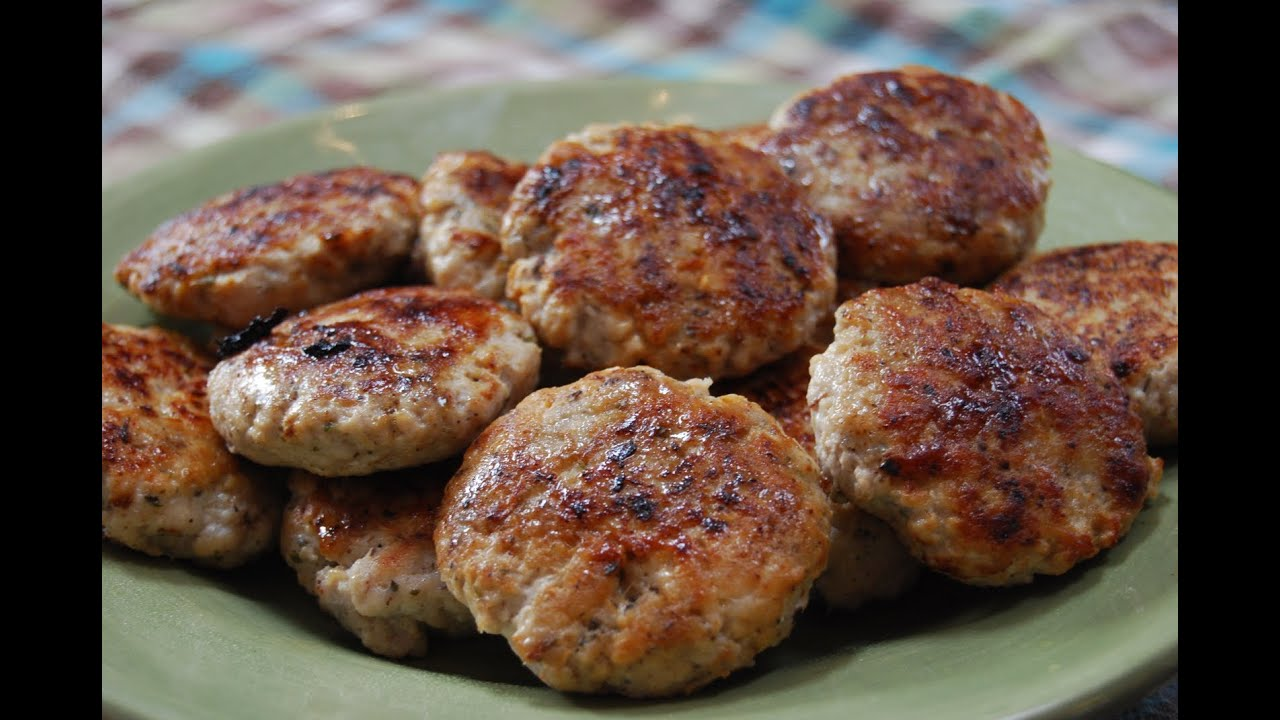 Fresh Ground Pork Breakfast Sausage - YouTube