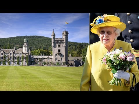 The Queen starts early summer holiday in Balmoral - but she won't be staying in her beloved castle