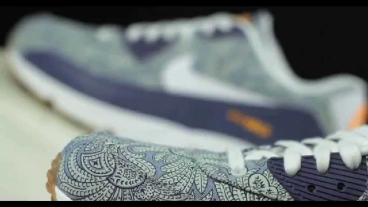 promo code 8849b 4e841 Nike Air Max 90 x Liberty London 2014 - Unboxing   Detailed look ...