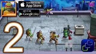 TMNT Portal Power Android iOS Walkthrough - Part 2 - New York 6-9