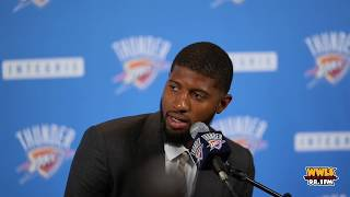 Paul George Media-Only Press Conference (FULL)