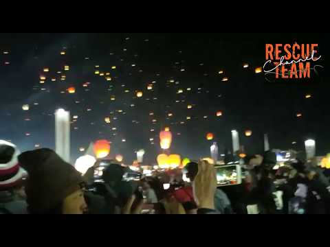 Dieng Coulture Festival, party lanterns when cold reaches -4 degrees Celsius 4/8/2018
