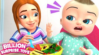 Food Song | Kids Songs | Billion Surprise Toys