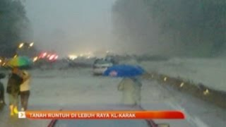Banjir lumpur Lebuhraya KL - Karak: Reaksi wartawan Asyraf Hasnan di lokasi