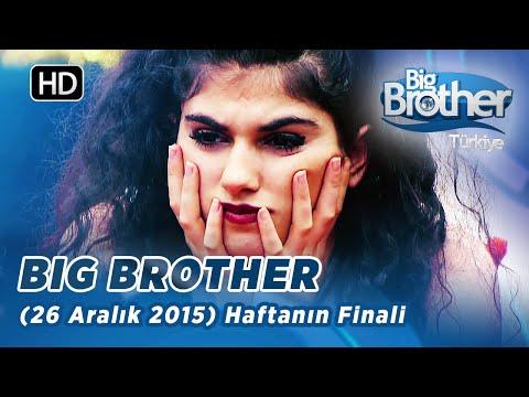 Big Brother Türkiye Haftanın Finali (26 Aralık 2015)  - Bölüm 33