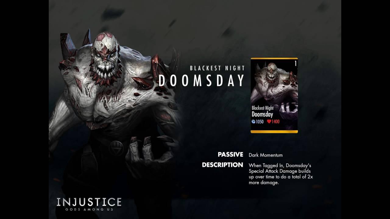 Injustice Gods Among Us Mobile: BLACKEST NIGHT DOOMSDAY