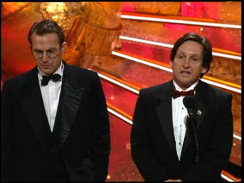 Golden Globes 1991 Dances with Wolves wins the Award for Best Motion Picture Drama