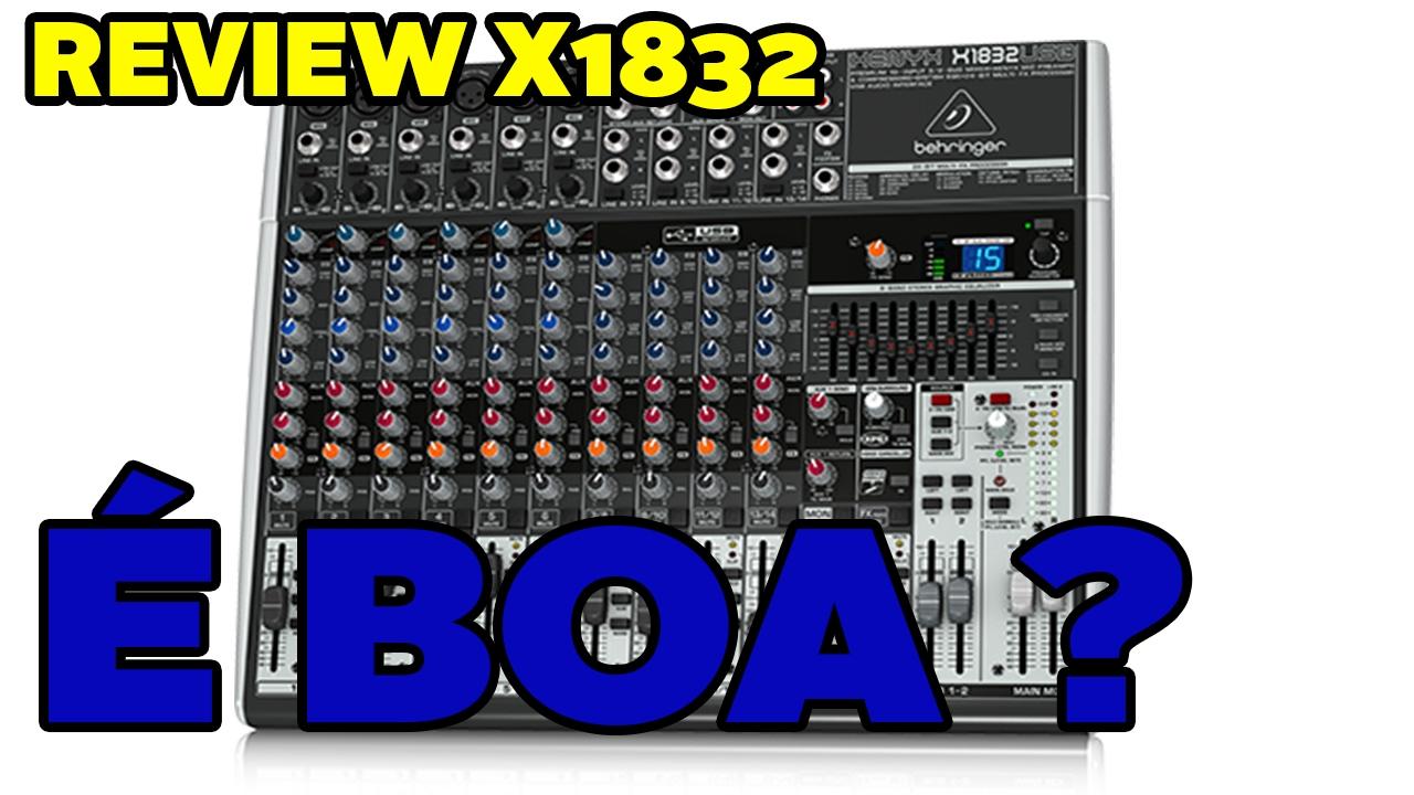 Behringer xenyx x1832 usb youtube.