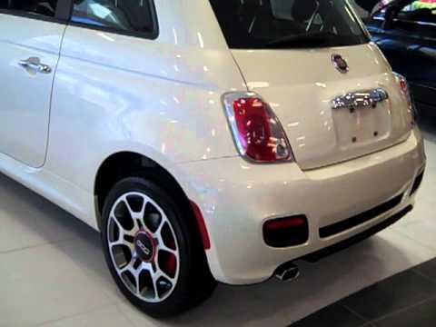 2012 Fiat 500 Sport Bianco Perla