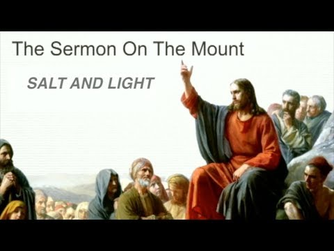 Salt And Light: Being an Agent of Influence in the World.