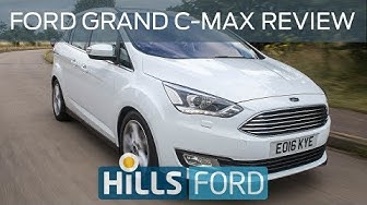 Ford Grand C MAX Review 2015 | Car Reviews UK | Hills Ford