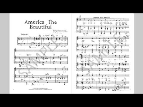 America The Beautiful - MusicK8.com Singles Reproducible Kit