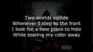 Disturbed - Two Worlds Lyrics (HD)